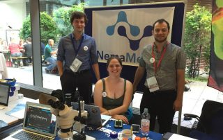 The NemaMetrix Team at the European Worm Meeting in Berlin - 2016