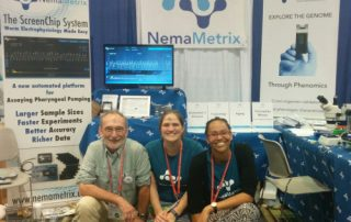 NemaMetrix Team at the TAGC Conference - July 2016