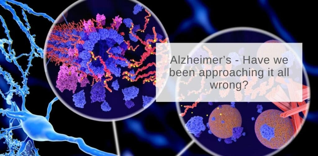 Alzheimer's - Have we been approaching it all wrong?