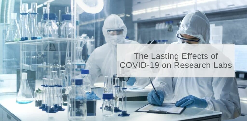 The Lasting Effect of COVID-19 on Research Labs